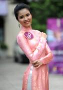 Á khôi Ngoại thương tự tin thử sức 2 cuộc thi hoa hậu