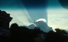 Đám mây lạ kỳ tại Vũng Tàu