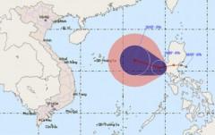 Áp thấp nhiệt đới mạnh lên thành bão ngay đêm nay
