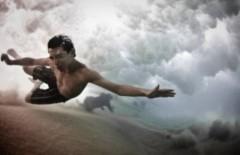 Bơi dưới nước như bay trên trời