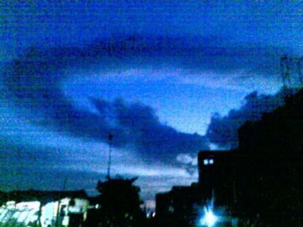 Kỳ diệu bức ảnh chụp đám mây hình rồng