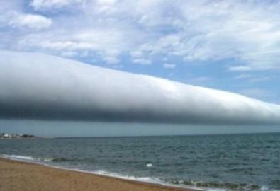 Mây cuộn tròn hiếm gặp trên bầu trời Uruguay