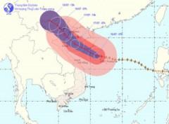Ngày mai, bão số 1 sẽ đổ bộ vào Hải Phòng - Nghệ An