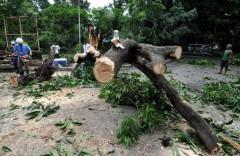 Philippines, Trung Quốc oằn mình trong bão dữ