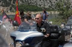 Putin dẫn đầu đội quái xế Harley Davison