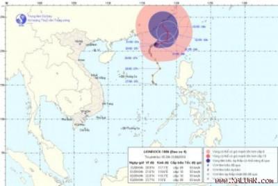 Ba cơn bão cùng tồn tại ngoài khơi biển Đông