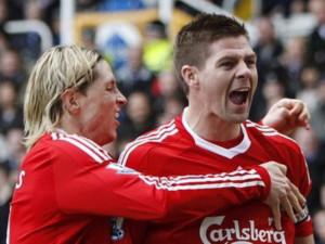 Chiến thắng đầu tiên cho Liverpool