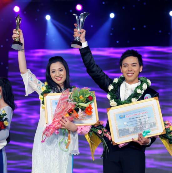 Én vàng 2010: Huỳnh Giao chiến thắng bằng sự đột phá!, Ca nhạc - MTV, En vang, Nguoi dan chuong trinh truyen hinh, MC, Nguyen Thi Huynh Giao, Huynh Trung Phong, Dam Vinh Hung, Hoai Linh, Doan Trang, Ho Quynh Huong, ca nhac