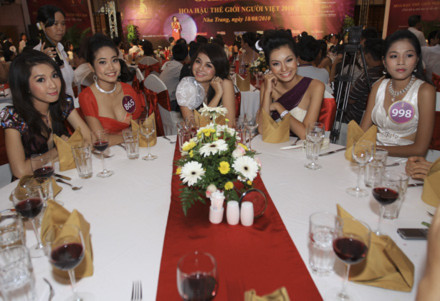 Gala Dinner - đêm hội tụ các hoa hậu