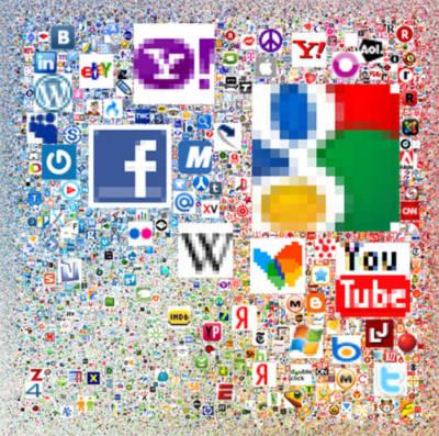 Gần 300.000 website trong 1 bức ảnh khổng lồ