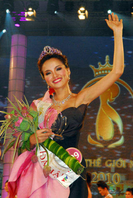 Hoa hậu TGNV: Bất ngờ, nhưng thuyết phục