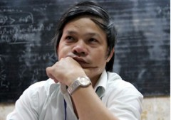 Thầy Đỗ Việt Khoa khi còn trong ngành giáo dục