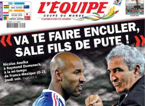 Thủ quân tuyển Pháp tiết lộ vụ bê bối ở World Cup