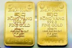 Vàng SJC bị làm giả