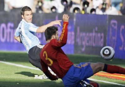 Báo chí Tây Ban Nha coi nhẹ thảm bại tại Argentina