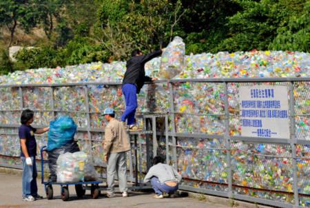 Chai nhựa – mỏ vàng ở Đài Loan