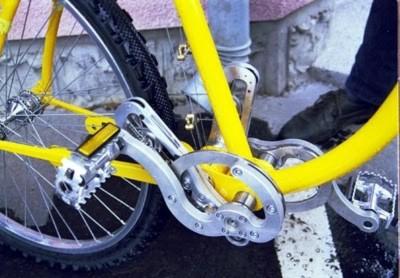 Chuyện lạ có thật: xe đạp không cần xích