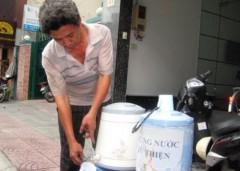 Cốc trà từ thiện làm mát lòng người đi đường
