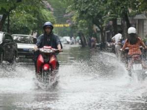 Hôm nay tất cả các vùng trên cả nước có mưa rào và dông