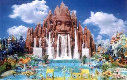 Những công viên giải trí độc đáo trên thế giới