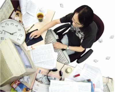 Những thói quen xấu của dân văn phòng