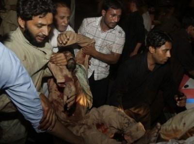 Pakistan: Đánh bom liều chết hàng loạt, 25 người thiệt mạng