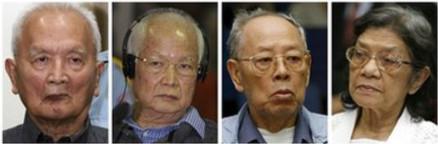 Truy tố bốn trùm Khmer Đỏ.
