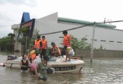 Thông tin tiếp về mưa lũ ở Khánh Hòa, Phú Yên