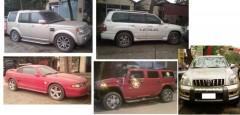 Một số xe hạng sang được các đối tượng buôn lậu