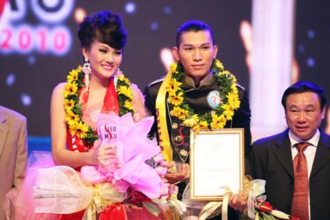 Cặp đôi Ngọc Thạch - Ngọc Tình giành Cúp Siêu mẫu