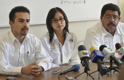 Garcia tại cuộc họp báo sau lễ nhậm chức cảnh sát trưởng hôm 20/10.