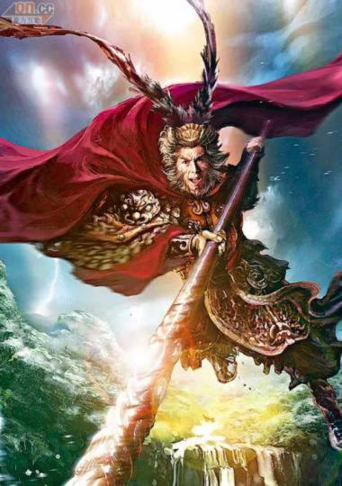 Chân Tử Đan đóng Tôn Ngộ Không trong phim 3D