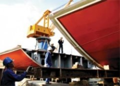 Sai phạm tại Vinashin khiến ngành công nghiệp đóng tàu của VN bị ảnh hưởng nặng nề - Ảnh: K.T.L