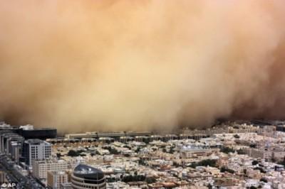 Chùm ảnh những trận bão cát kinh hoàng trong lịch sử
