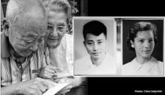 Ông Yuan và bà Li hiện thời và lúc trẻ