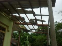 Hà Tĩnh: Lốc xoáy thổi tốc mái 12 nhà dân