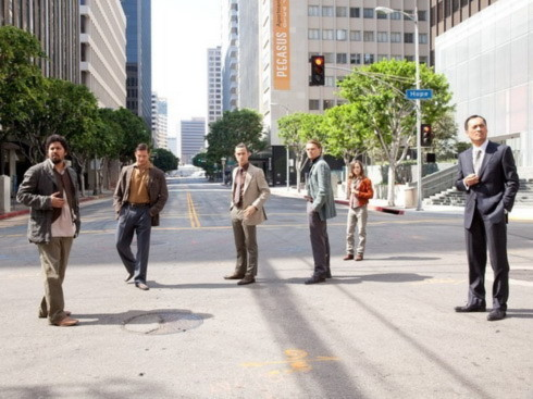 """Dàn diễn viên của """"Inception"""". Ảnh: Warner Bros."""