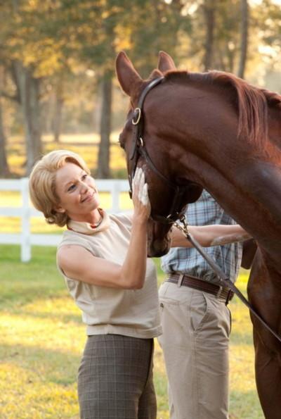 """Nữ diễn viên Diane Lane đóng vai chính trong """"Secretariat"""". Ảnh: Disney."""