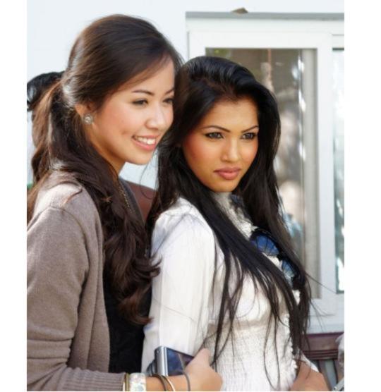 Kiều Khanh ấn tượng với Hoa hậu Thụy Điển