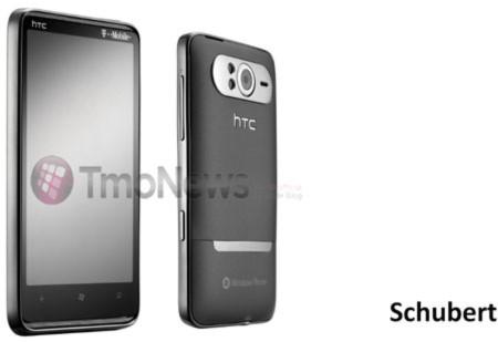 """Lộ ảnh quảng cáo điện thoại """"khổng lồ"""" HTC HD7"""