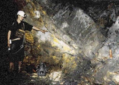 Lò phản ứng hạt nhân nguyên tử cổ xưa được phát hiện tại Oklo, nước Cộng hoà Gabon (Ảnh từ Minghui.org)