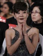 Kim Yun-jin trong lễ khai mạc LHP Pusan lần thứ 15 - Ảnh: Reuters