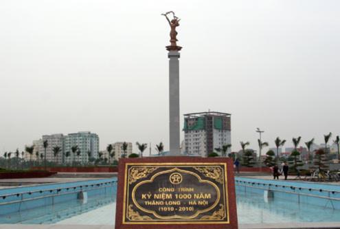 Tượng đài Hòa Bình bằng đồng