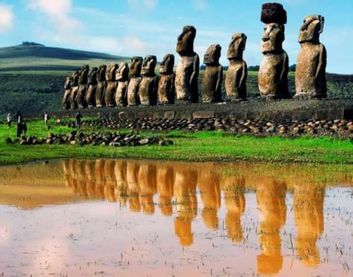 Những điều bí ẩn đánh đố loài người, Phi thường - kỳ quặc, bi an, bi an lich su, bi an the gioi, kim tu thap, dao phuc sinh, van minh maya, de che inca, sa mac Nazca, tam giac quy