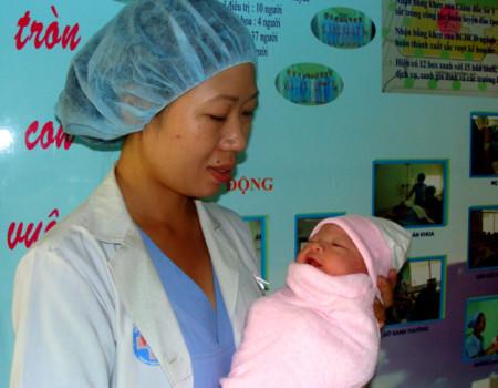 Những em bé chào đời vào thời khắc năm số 10