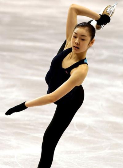 Kim là tên tuổi lớn nhất trong làng trượt băng nghệ thuật đương đại.