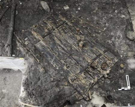 Cánh cửa gần như vẫn còn nguyên vẹn sau 5.100 năm.