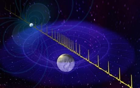 Hình ảnh minh họa về ngô sao Nowtron PSR J1614-223. Ảnh: Space.com