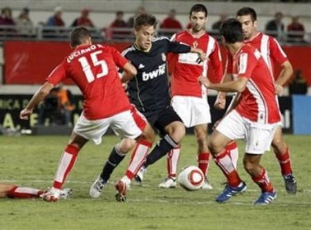 Real Madrid hòa bất lực trước Murcia