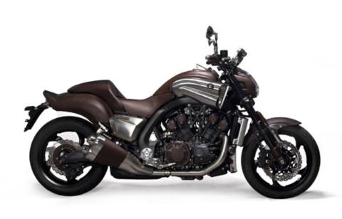 Siêu môtô Yamaha bọc da